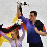 Olympia-Gold für Aljona und Bruno! Und keiner konnte es sehen (Foto)