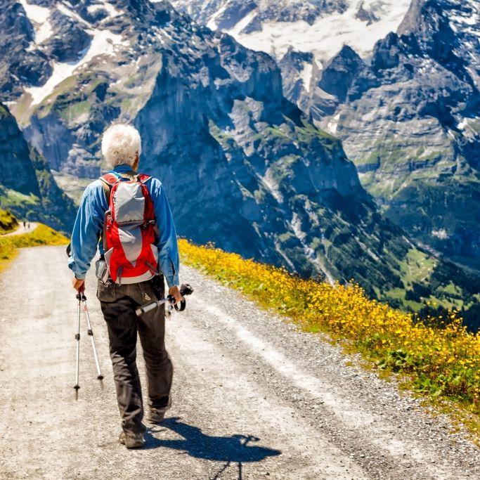 Wanderer (74) rutscht vor den Augen seiner Frau in den Tod (Foto)