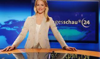 """""""Tagesschau""""-Moderatorin lässt Baby-Bombe platzen: Judith Rakers freut sich über Nachwuchs. (Foto)"""