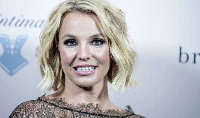 Britney Spears beim Yoga