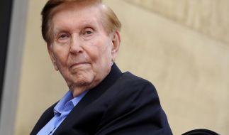 Medienmogul Sumner Redstone ist mit 97 Jahren gestorben. (Foto)