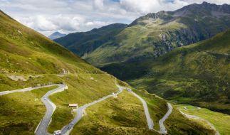 Am Oberalppass in der Schweiz kam es zu einem tödlichen Unfall bei einem Rad-Rennen. (Foto)