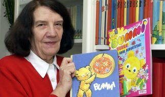 Die Bummi-Schöpferin Ursula Böhnke-Kuckhoff im Jahr 2002. (Foto)