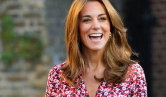 Kate Middleton ist glückliche Dreifach-Mama. (Foto)