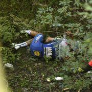 Tödlicher Unfall in der Schweiz, heftige Stürze in Frankreich und Italien (Foto)
