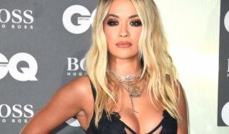 Rita Ora genießt ihren Urlaub auf Korfu. (Foto)