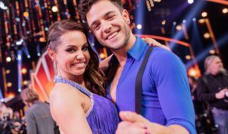 """Christina Luft und Luca Hänni lernten sich bei """"Let's Dance"""" kennen und lieben. (Foto)"""
