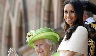 Meghan Markles politisches Engagement ist der Queen laut Royal-News ein Dorn im Auge. (Foto)