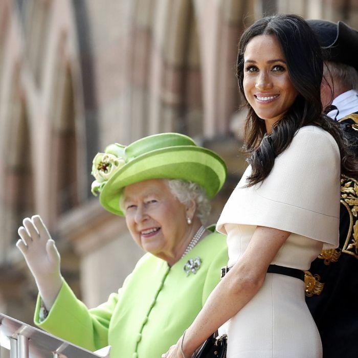 Unerhörter Fehltritt! Entzieht die Queen Meghan nun den Titel? (Foto)
