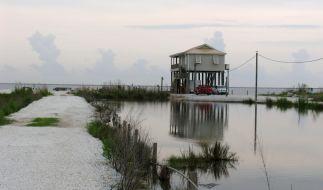 Wetterexperten warnen: Hurrikan Marco löst schwere Überschwemmungen aus. (Symbolfoto) (Foto)
