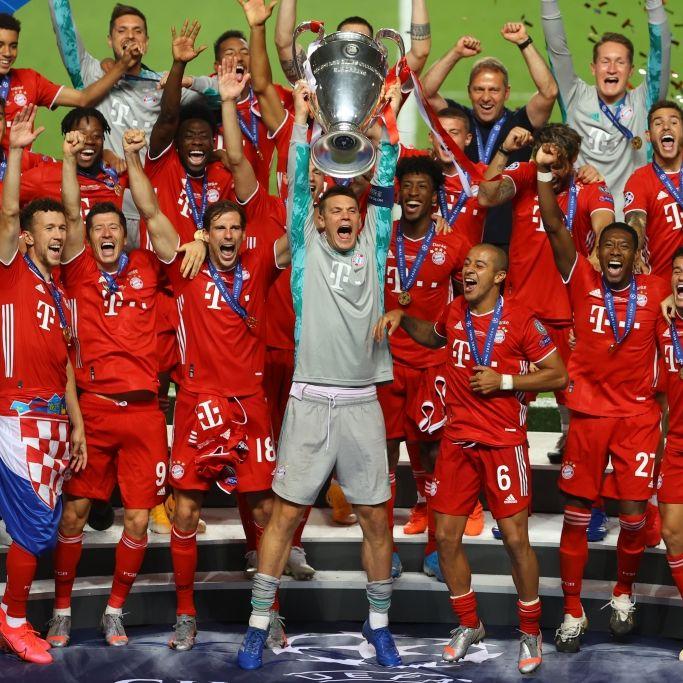 Sensationeller Sieg! FC Bayern feiert zweites Triple (Foto)