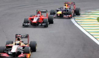 Am Wochenende kämpfen die Formel 1-Piloten beim Großen Preis von Belgien um den Sieg. (Foto)