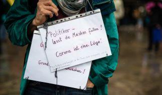 Berlin hat eine für das Wochenende angekündigte Demonstration gegen die Corona-Politik verboten. (Foto)