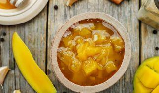 Edeka und Marktkauf rufen aktuell ein Mango-Chutney zurück. (Foto)