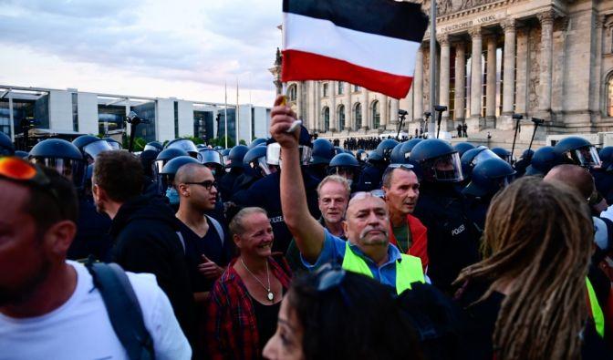 Nach der Demo in Berlin