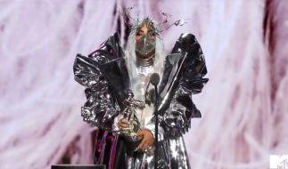 Lady Gaga hat fünf Preise bei den VMAs gewonnen. (Foto)