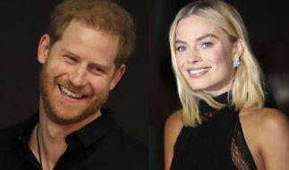 Was läuft da zwischen Prinz Harry und Margot Robbie? (Foto)