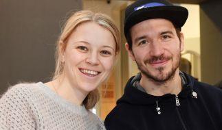 Felix Neureuther und seine Frau Miriam. (Foto)
