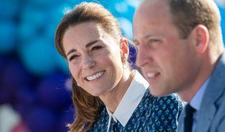 Bei Kate Middleton und Prinz William ist auch nach mehr als neun Jahren Ehe der Humor nicht verloren gegangen. (Foto)