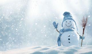 Auch in diesem Jahr werden Schneemänner wohl eher selten so üppig ausfallen. (Foto)