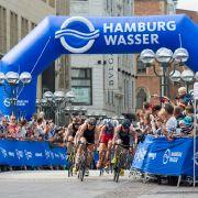 Deutsche Staffel bei Triathlon-WM ohne Chance - Lindemann auf Platz 3 (Foto)