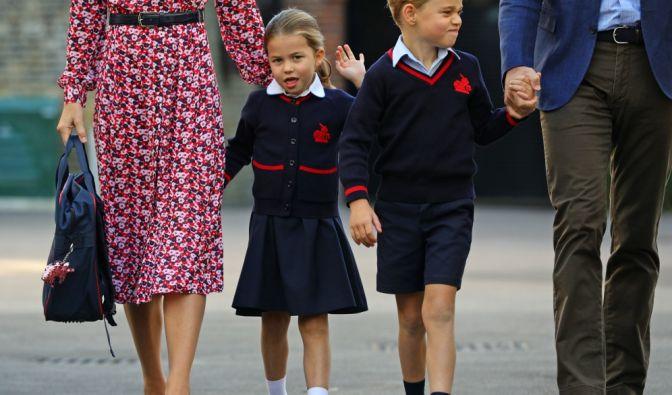 Prinz George und Prinzessin Charlotte
