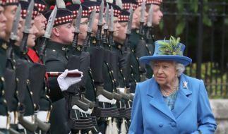 Weil sie eine Corona-Party gefeiert hatten, mussten Mitglieder der königlichen Garde ins Gefängnis. (Foto)