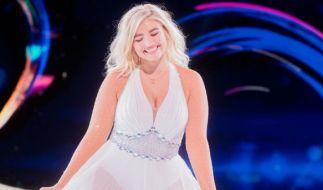 "Sarina Nowak, hier bei ""Dancing on Ice"" (Foto)"