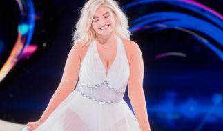 "Sarina Nowak, hier bei ""Dancing on Ice"" 2019 (Foto)"