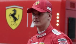 Michael Schumachers Sohn Mick Schumacher steht angeblich kurz vor seinem Debüt in der Formel 1. (Foto)