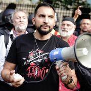 Vorzeitiges Aus! 10.000 Teilnehmer - Veranstalter bricht Corona-Demo ab (Foto)