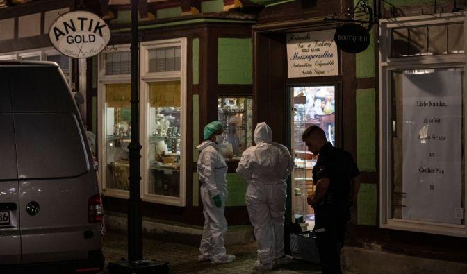 Bewaffneter Raubüberfall in Celle