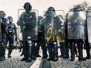 Haben wir ein Polizeiproblem? Nach dem rechtsextremen Polizeiskandal um ausländerfeindlich Chatgruppen entbrannte ein Shitstorm auf Twitter. (Foto)