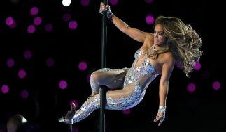 Jennifer Lopez vertickt Schuhe auf ihre eigene Art und Weise. (Foto)