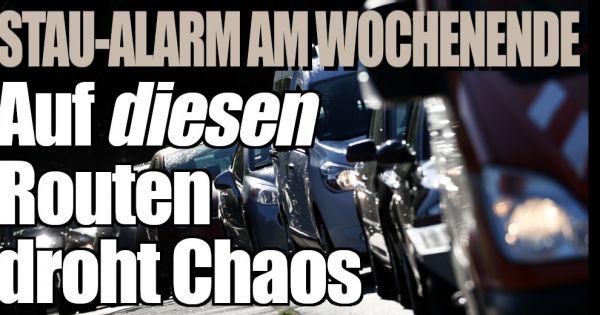 ADAC: Stau-Alarm trotz Ferienende! Auf DIESEN Routen droht...