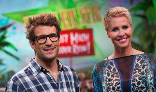 Die Dschungelcamp-Moderatoren Daniel Hartwich und Sonja Zietlow. (Foto)