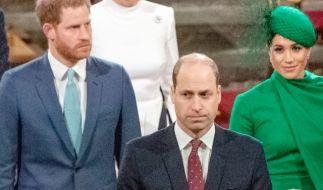 Wie steht es um die Beziehung von Prinz William und Prinz Harry? (Foto)