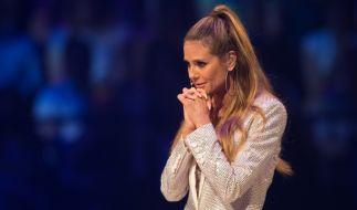 Heidi Klum wagt einen eindrucksvollen Auftritt. (Foto)