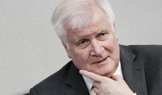 Horst Seehofer ist für eine Begrenzung der Migration. (Foto)