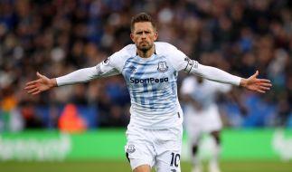 Der Everton-Star und isländische Nationalspieler Gylfi Sigurdsson trauert um seinen Schwager. (Foto)