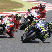 Ergebnisse der Motorrad-WM in MotoGP, Moto2 und Moto3 (Foto)