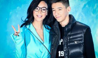 Verona Pooth zankte sich im neuen Poothcast mit ihrem Sohn Diego. (Foto)