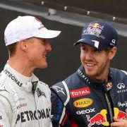 Nach Ferrari-Aus! Jetzt redet Vettel Schumi-Klartext (Foto)