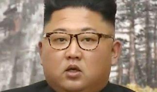 Kim Jong-un soll eine neue Doomsday-Rakete entwickelt haben. (Foto)