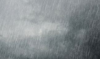 Der Deutsche Wetterdienst (DWD) warnt vor Dauerregen und Schnee. (Foto)