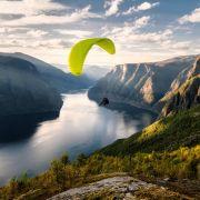 Paraglider prallt gegen Felswand - tot (Foto)
