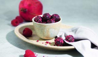 Die DHDL-Fruchtkugeln sind eine gesunde Alternative zu süßen Snacks. (Foto)