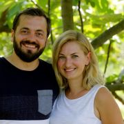 Die Yammbits-GründerJulian Berhand und Elena Sarri-Berhang.