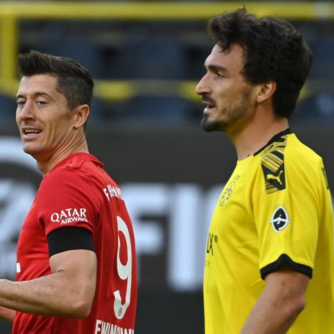 Bayern München gewinnt 3:2 gegen Borussia Dortmund (Foto)