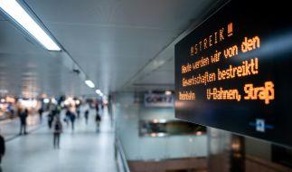 Hier bleiben heute Busse und Bahnen stehen. (Foto)